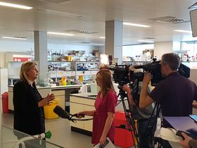Parliamentary Under Secretary of State, Baroness Sugg, interviewed by media on the ASCEND programme launch