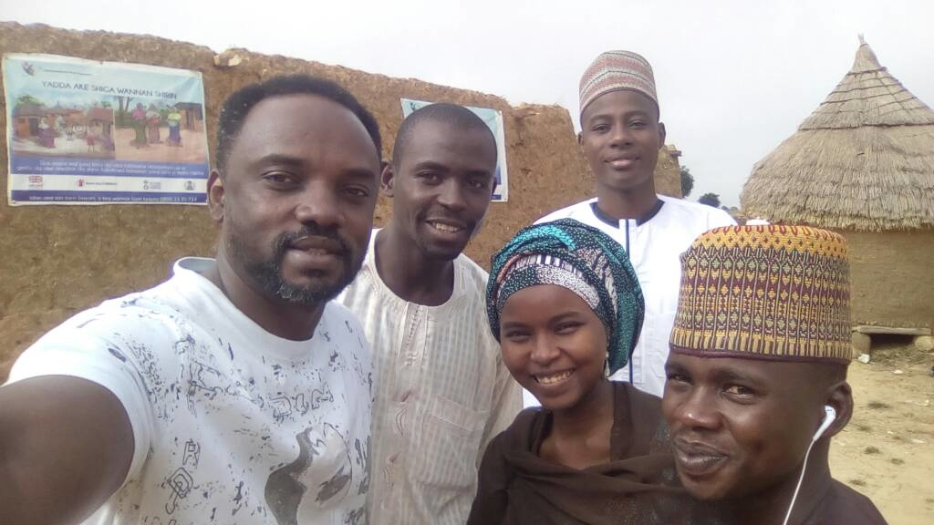 I was team lead for an evaluation of nutriton project in northern Nigeria supported by Save the Children. In this photo, with my team at one of villages in Anka LGA, Zamfara State, Nigeria. 2017